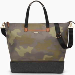 Stella & Dot Camo Crush It Bag & Matching Pouf